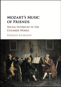 Mozarts Music of Friends Cover Design